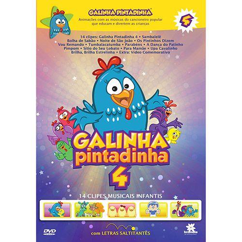Galinha Pintadinha - Volume 4 - DVD
