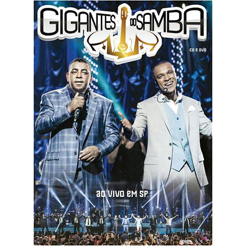 Gigantes Do Samba (dvd + Cd)