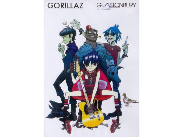Gorillaz - Glastonbury 23-27 June 2010 - DVD