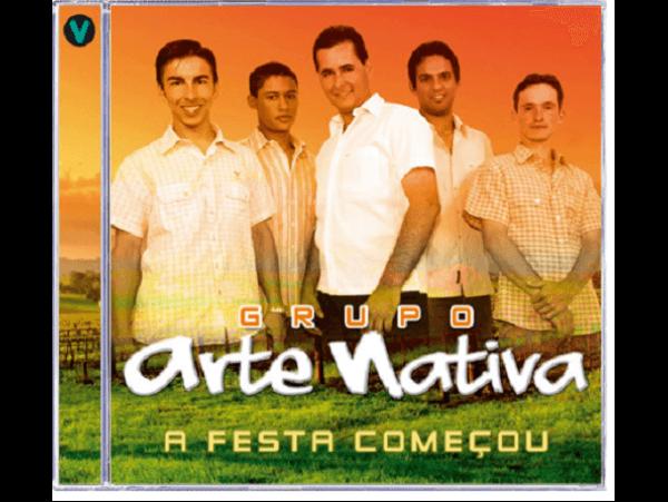 Grupo Arte Nativa - A Festa Começou - CD