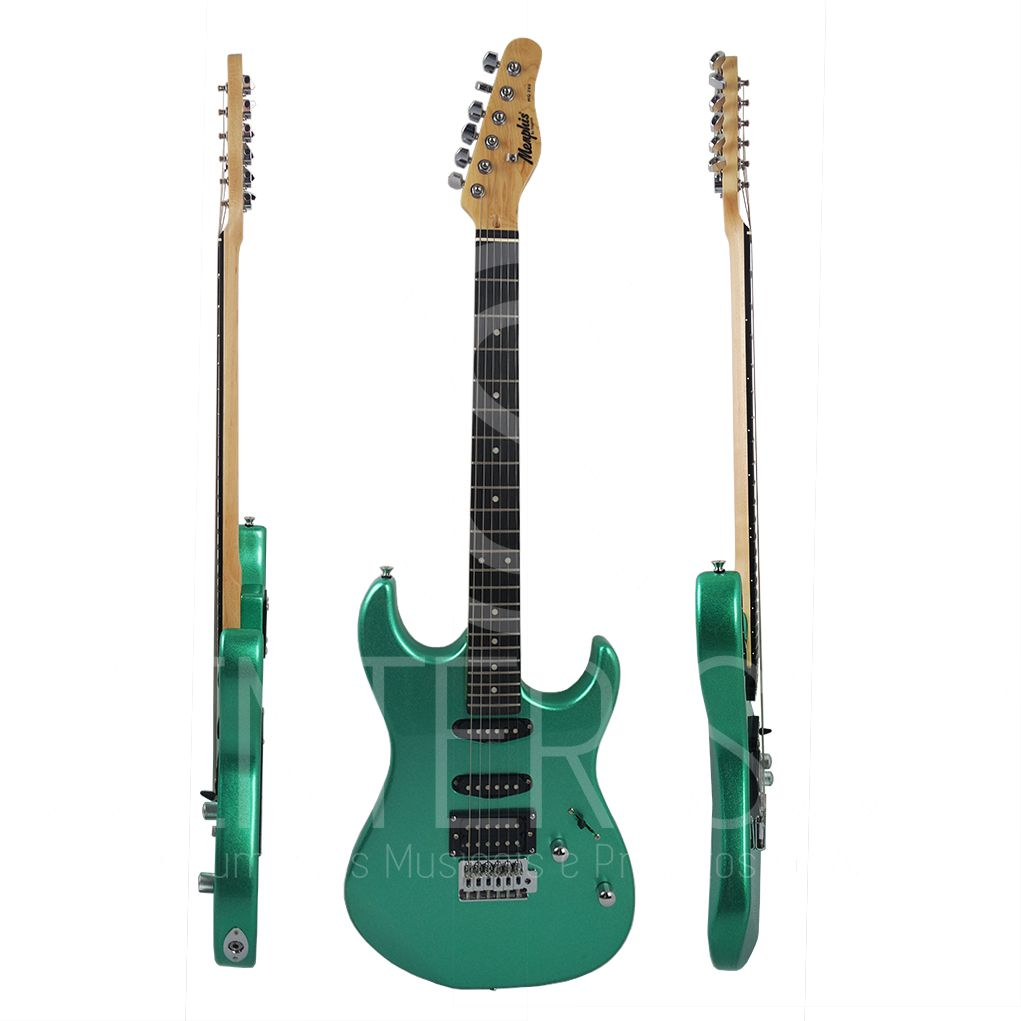 Guitarra Elétrica Tagima Memphis Mg-260 MGS - Metallic Surf Green