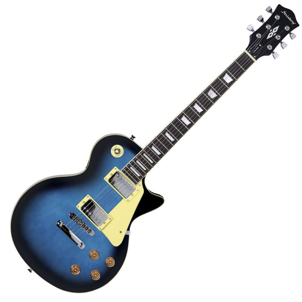 Guitarra Les Paul Strinberg LPS230 BL + Cabo p10