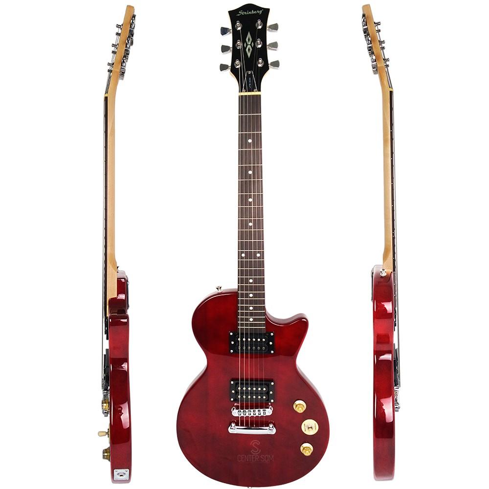 Guitarra Les Paul Strinberg LPS200 TWR + Cabo p10