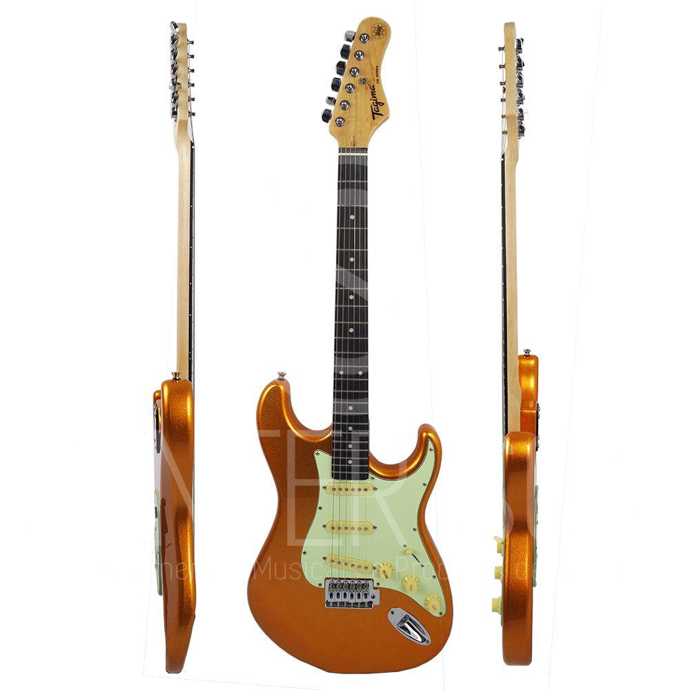 Guitarra Tagima Elétrica TG - 500 MGY  Metallic Gold Yellow