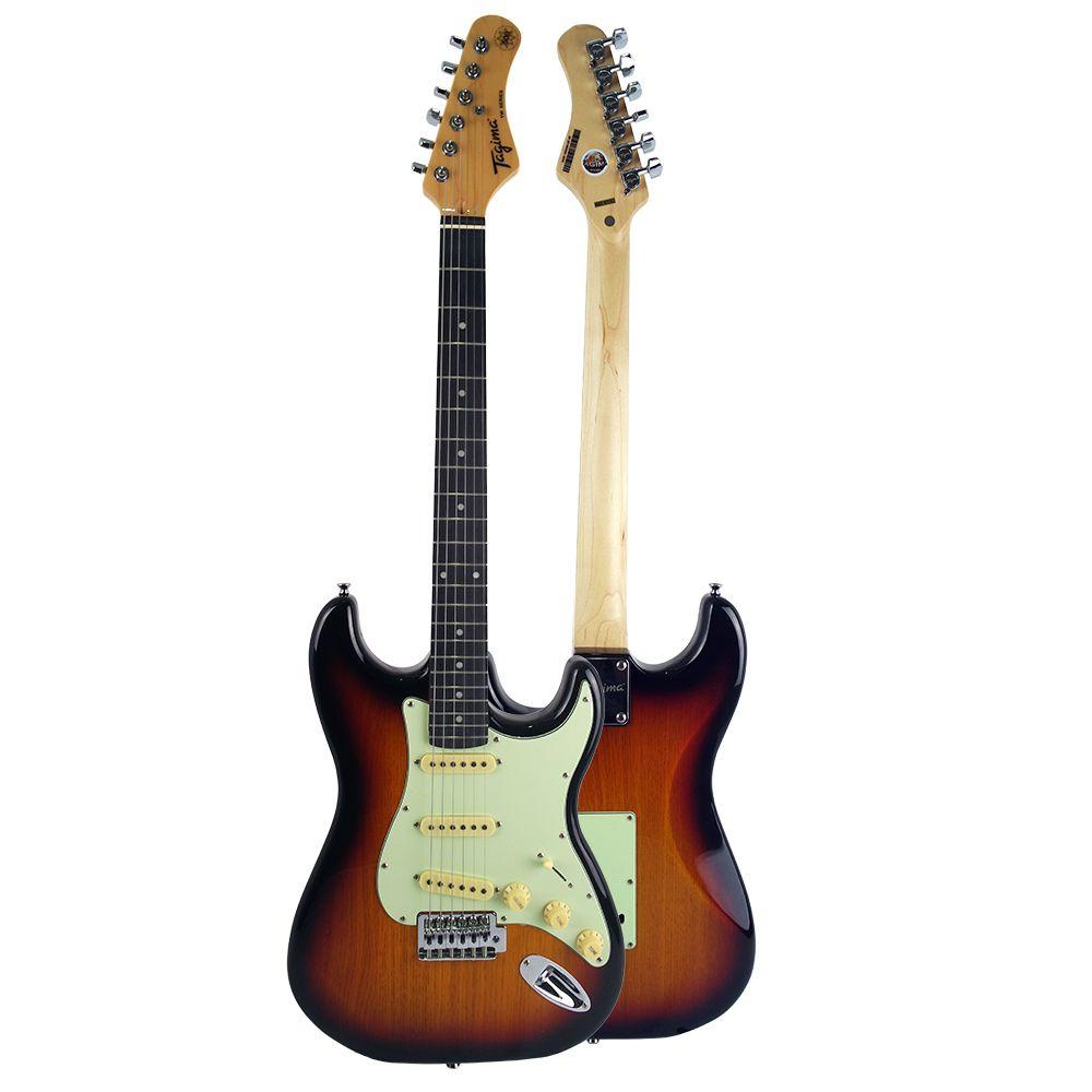 Guitarra Tagima Tg500 SB SunBurst Elétrica + Cabo P10