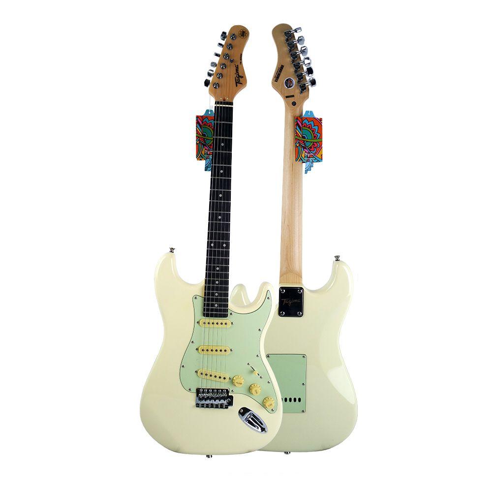 Guitarra Tagima TG500 OWH Branca Elétrica + CABO P10