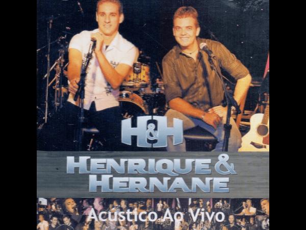 Henrique & Hernane - Acústico Ao Vivo - CD