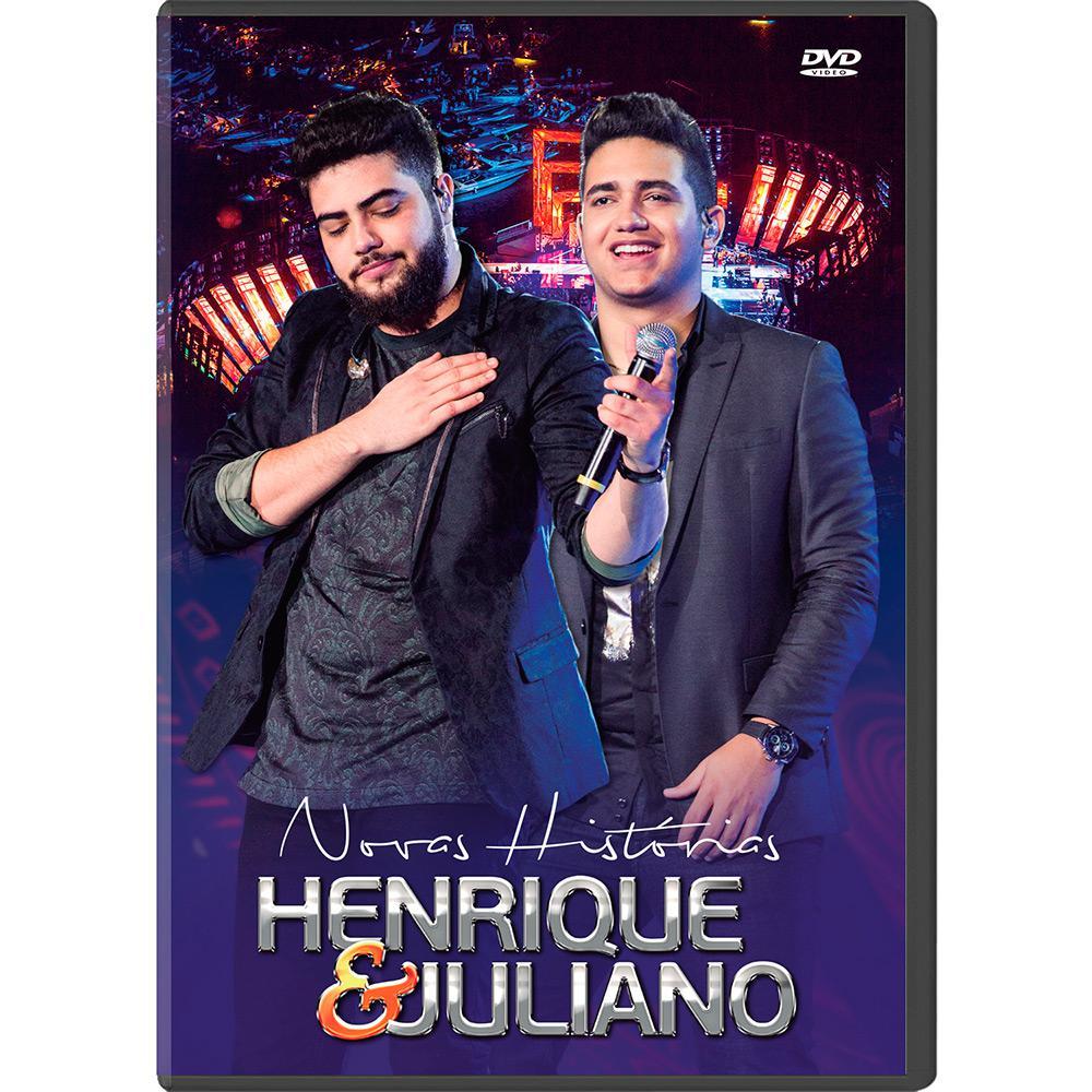 Henrique & Juliano - Novas Histórias - DVD