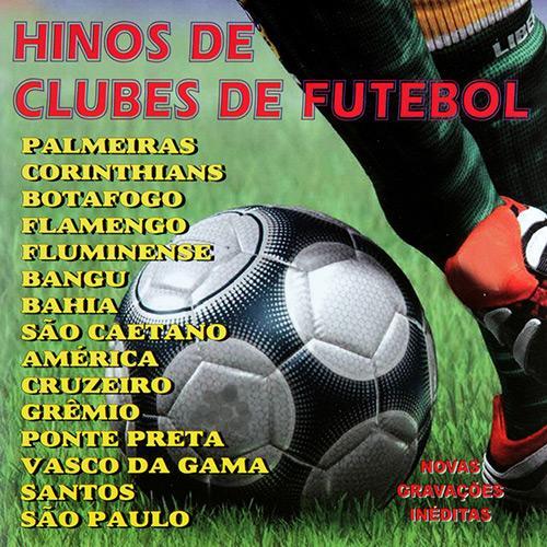 Hinos De Clubes De Futebol - CD