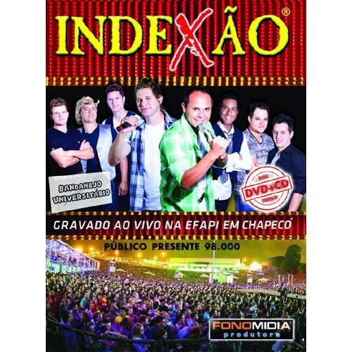 Indexão - Gravado ao vivo em Chapeco (Dvd + Cd)