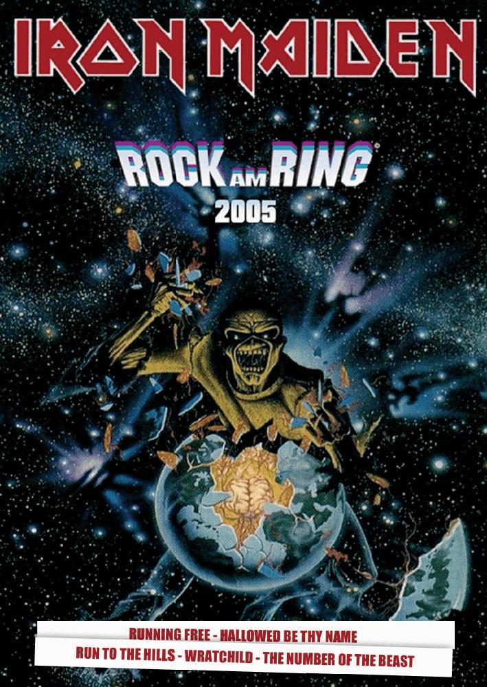 Iron Maiden - Rock Am Ring - 2005 - DVD