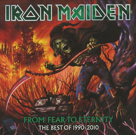Iron Maiden - From Fear To Eternity The Best of 1990-2010 - CD Duplo
