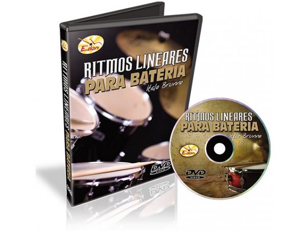Italo Brunno - Ritmos Lineares Para Bateria - DVD