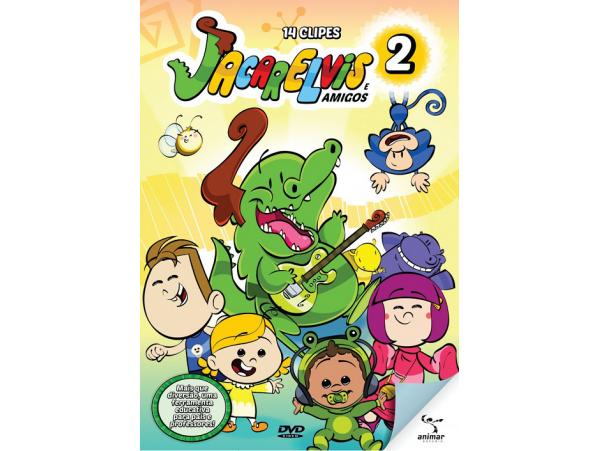 Jacarelvis e Amigos - Volume 2 - DVD
