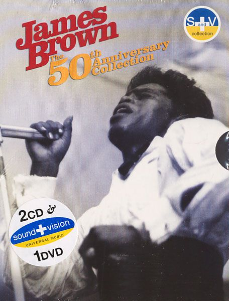 James Brown - 50th Anniversary Collection - 2CD+DVD