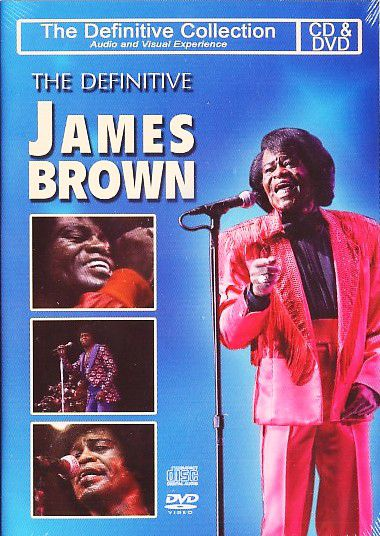 James Brown - The Definitive Collection - CD+DVD