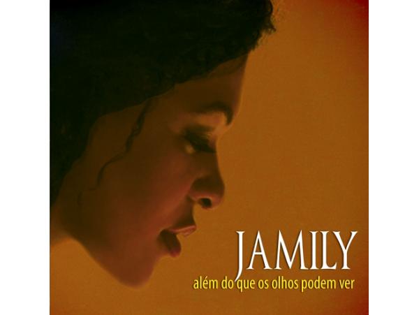 Jamily - Além Do Que Os Olhos Podem Ver - CD