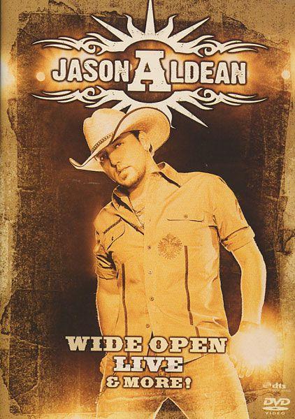 Jason Aldean - Wide Open - Live and More - DVD