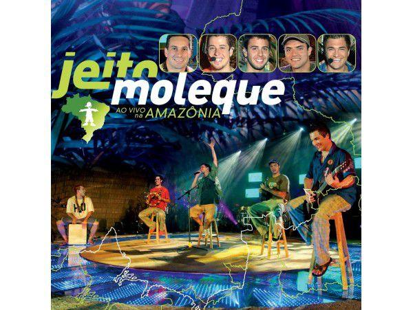 Jeito Moleque - Ao Vivo Na Amazônia - CD