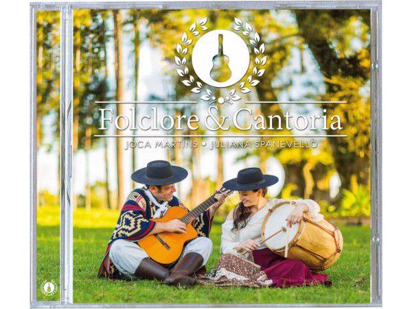 Joca Martins & Juliana - Folclore E Cantoria - CD