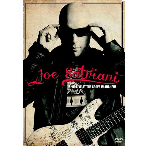 Joe Satriani - Shot Live At The Grove In Anaheim - DVD