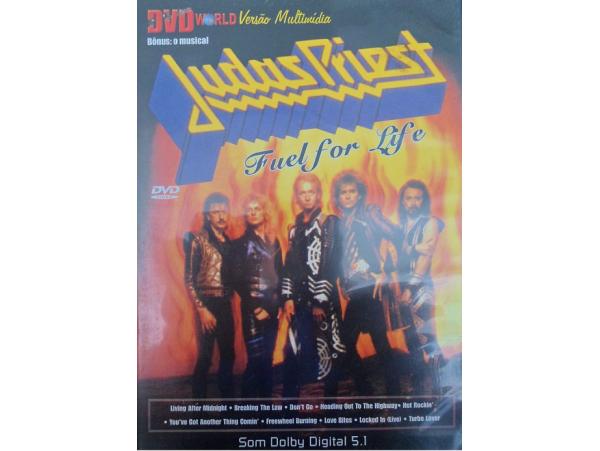 Judas Priest - Fuel for Life - DVD