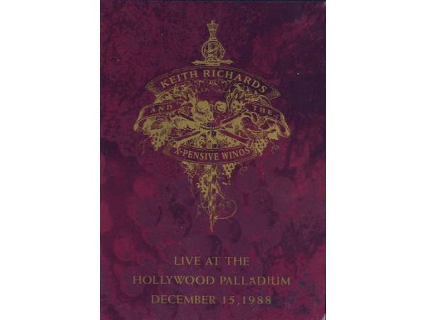 Keith Richards - Live At The Hollywood Palladium - DVD