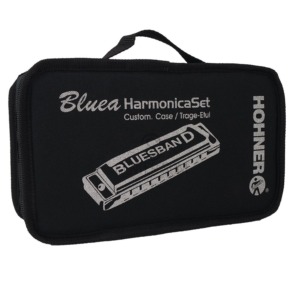 Kit Gaitas Hohner Blues Band 7 Harmonicas Com Estojo