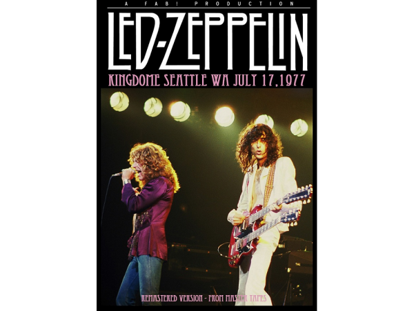 Led Zeppelin - Kingdom Seatle - 1977 - DVD
