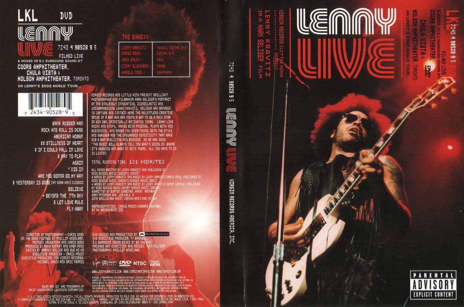 Lenny Kravitz ?- Lenny Live - DVD