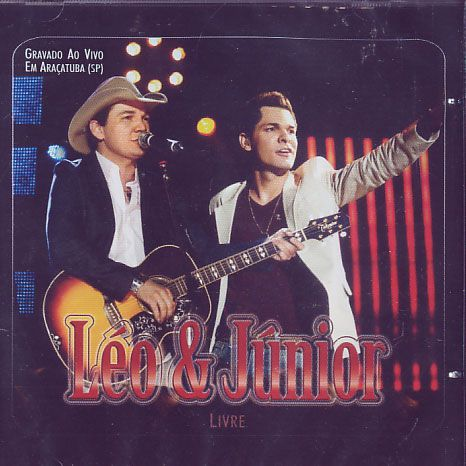 Leo & Junior - Livre - Ao Vivo - CD