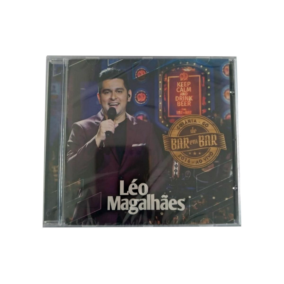 Léo Magalhães - De Bar Em Bar - Ao Vivo - CD