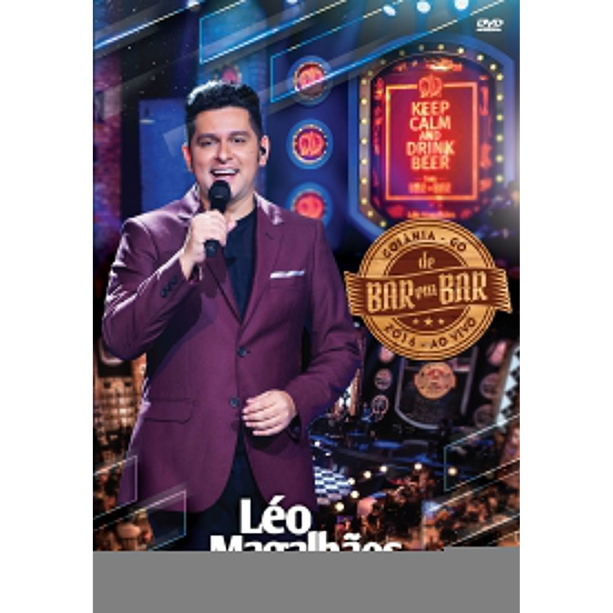 Léo Magalhães - de Bar em Bar - Ao Vivo - DVD