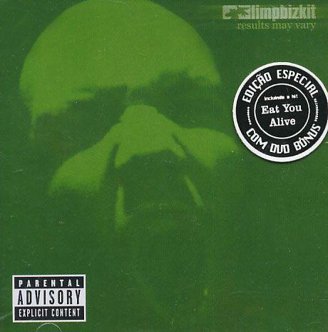 Limp Bizkit - Results May Vary CD + DVD Bônus