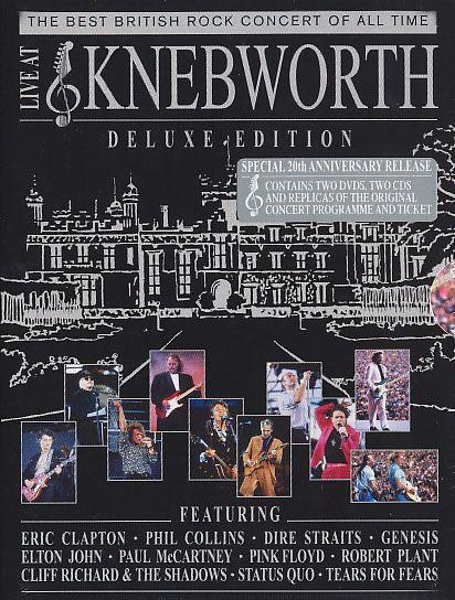 Live At Knebworth (2 Dvds + 2 Cds)