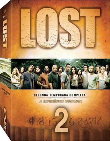 LOST - 2ª Temporada Completa - Box - DVD