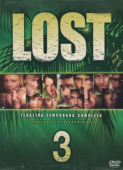 Lost - 3ª Temporada - 7 Discos - Box - DVD