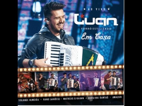 Luan Forró Estilizado - Em Casa - CD