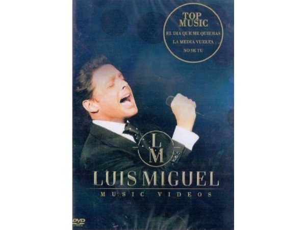 Luis Miguel - Music Videos - DVD