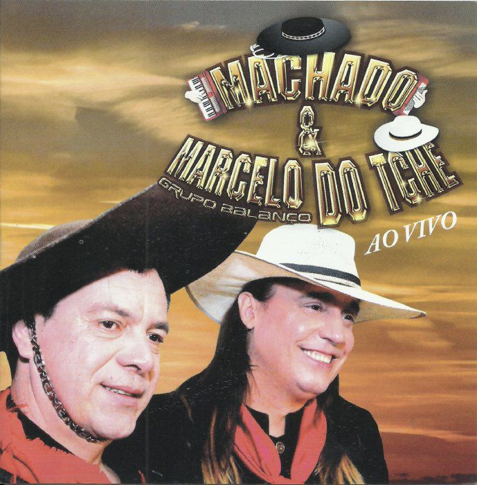 Machado & Marcelo Do Tchê - Ao Vivo - CD