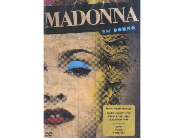 Madonna Em Dobro - Hard Candy + Remixes - DVD