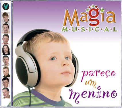 Magia Musical - Pareço Um Menino - CD