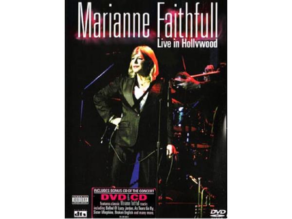 Marianne Faithfull - Live In Hollywood - CD+DVD