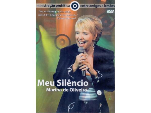 Marina De Oliveira - Meu Silêncio - Ao Vivo - DVD