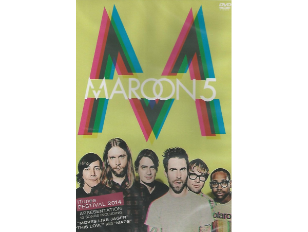Maroon 5 - Live At Itunes Festival 2014 - DVD