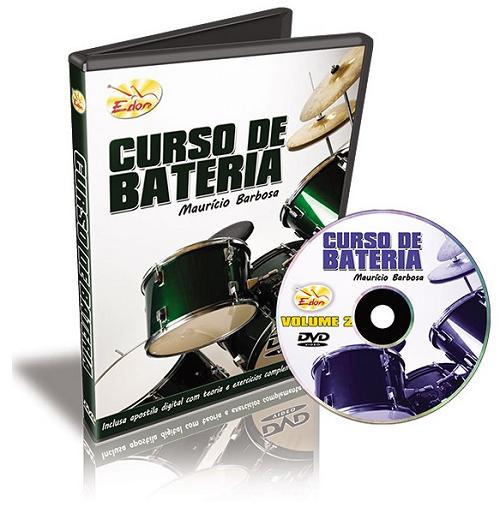 Maurício Barbosa - Curso De Bateria - Volume 2 - DVD