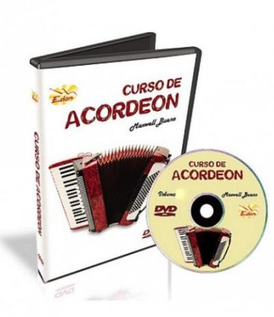 Maxwell Bueno - Curso De Acordeon - Volume 3 - DVD