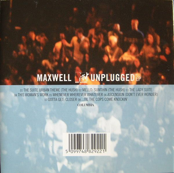 Maxwell ?- MTV Unplugged - EP - CD