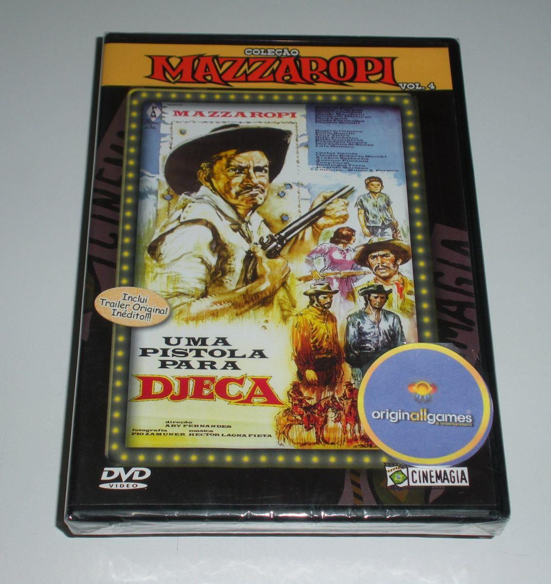 Mazzaropi - Vol.4 - Uma Pistola Para Djeca - DVD