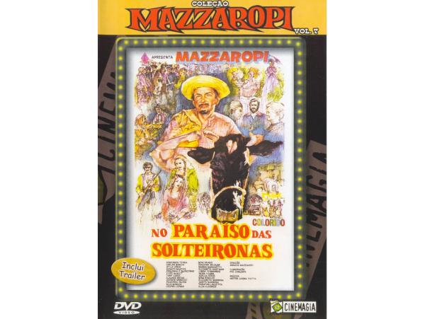 Mazzaropi - Vol.7 - No Paraiso Das Solteironas - DVD